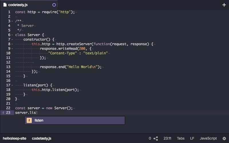 Powerful IDE in the cloud   CodeTasty